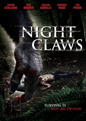 Night Claws Dvd cover