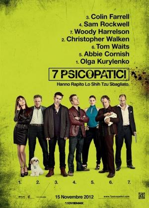Seven Psychopaths 700x980