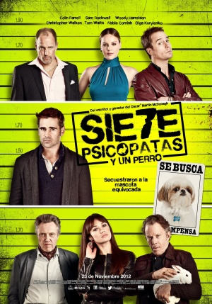 Seven Psychopaths 2099x3000