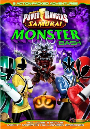 Power Rangers Monster Bash Halloween Special Cover