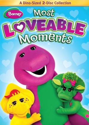 Barney: Most Lovable Moments Dvd cover