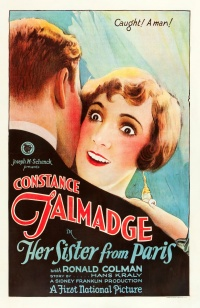 Her Sister from Paris poster