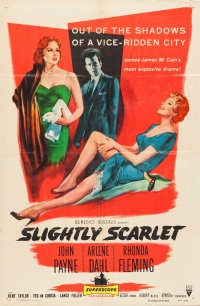 Slightly Scarlet poster