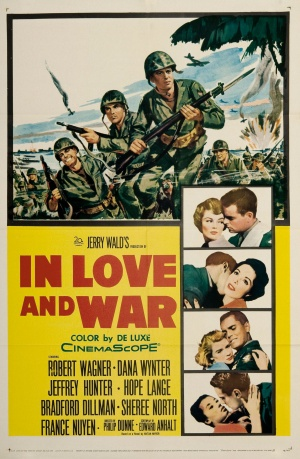 In Love and War Poster