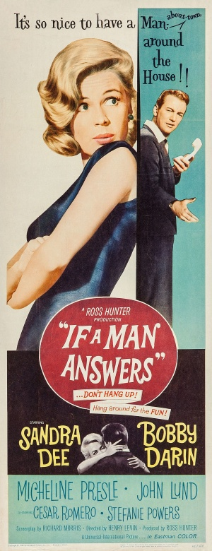 If a Man Answers Poster