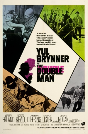 The Double Man Poster
