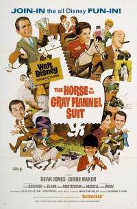 The Horse in the Gray Flannel Suit poster