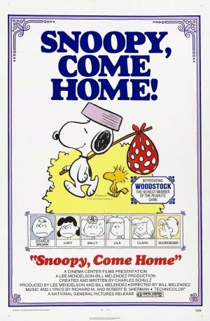 Snoopy Come Home Poster
