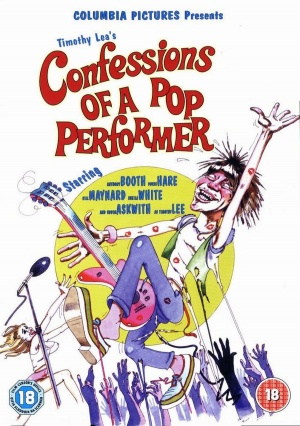 Confessions of a Pop Performer Dvd cover