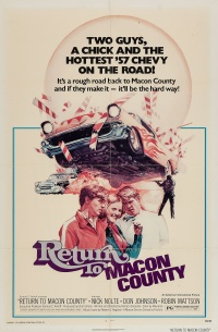 Return to Macon County poster