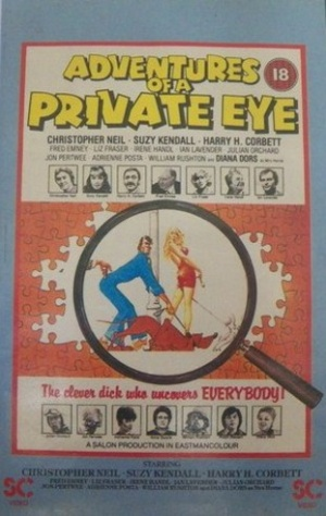 Adventures of a Private Eye Vhs cover