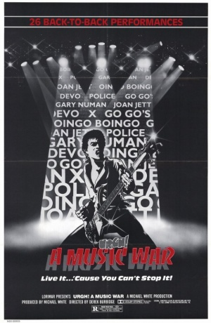Urgh! A Music War Poster