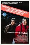 Un hombre lobo americano en Londres poster
