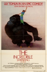 The Incredible Shrinking Woman poster