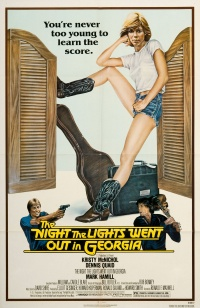 The Night the Lights Went Out in Georgia poster