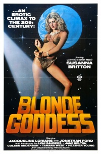Blonde Goddess poster