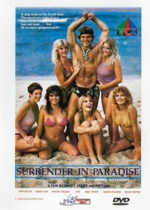 Surrender in Paradise Dvd cover