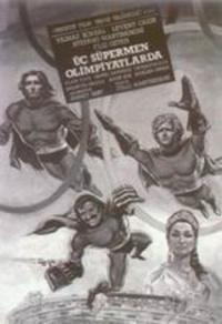 Üç süpermen olimpiyatlarda poster