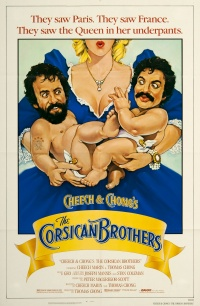 Cheech & Chong's The Corsican Brothers poster