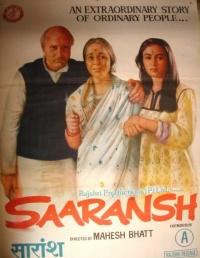 Saaransh poster