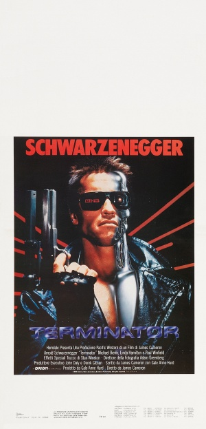 The Terminator Theatrical poster