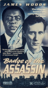 Badge of the Assassin poster