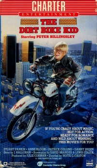 The Dirt Bike Kid poster