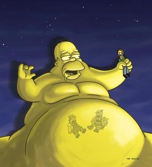 The Simpsons 2355x2592