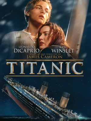 Titanic Dvd cover