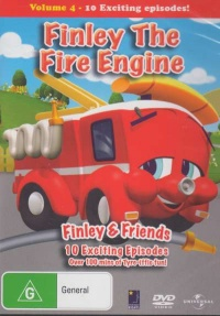 Finley the Fire Engine poster