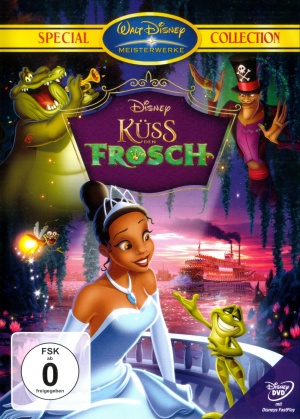 The Princess and the Frog 2000x2796