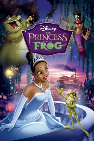 The Princess and the Frog 2000x3000