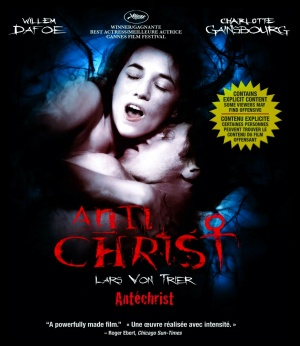 Antichrist Blu-ray cover