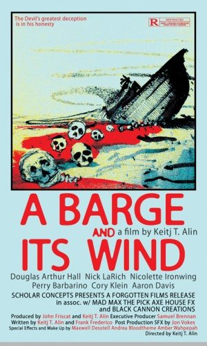 A Barge and Its Wind Poster