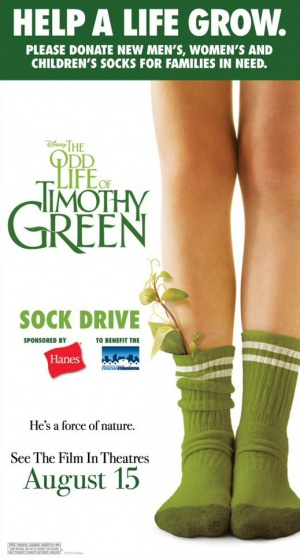 The Odd Life of Timothy Green 519x967