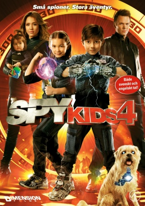 Spy Kids 4: All the Time in the World 1535x2175