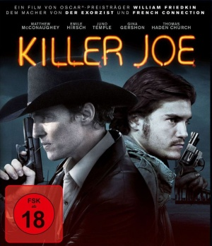 Killer Joe Blu-ray cover