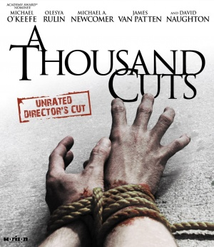 A Thousand Cuts Blu-ray cover