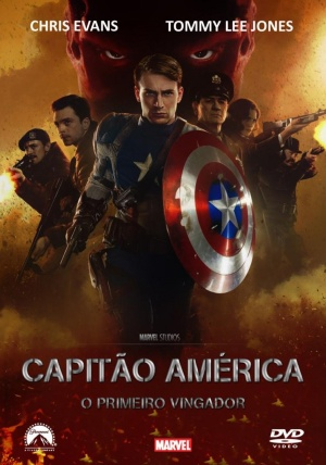 Captain America: The First Avenger Dvd cover