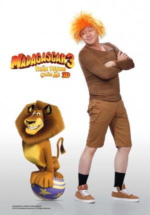 Madagascar 3: Europe's Most Wanted 2756x3937