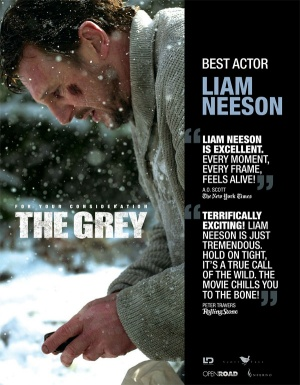 The Grey For your consideration poster