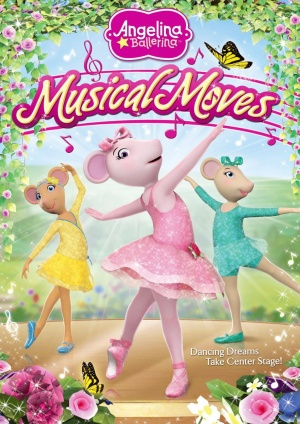 Angelina Ballerina: Musical Moves Cover