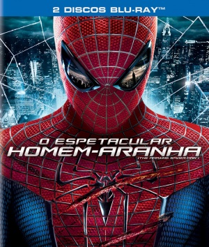 The Amazing Spider-Man Blu-ray cover
