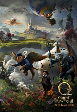 Oz the Great and Powerful 3480x5000
