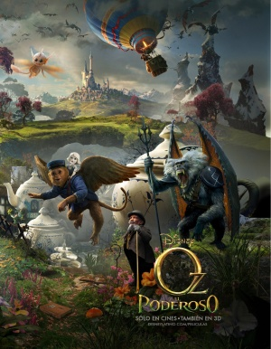 Oz the Great and Powerful 1399x1800