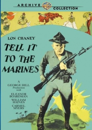 Tell It to the Marines Dvd cover