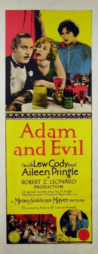 Adam and Evil poster