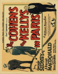 The Cohens and the Kellys in Paris poster