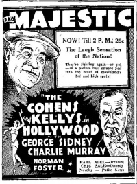 The Cohens and Kellys in Hollywood poster