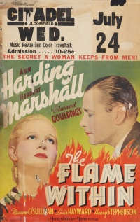 The Flame Within poster
